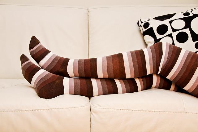 samostoječe nogavice
